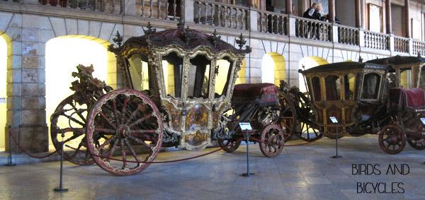 Au musée des carrosses de Lisbonne