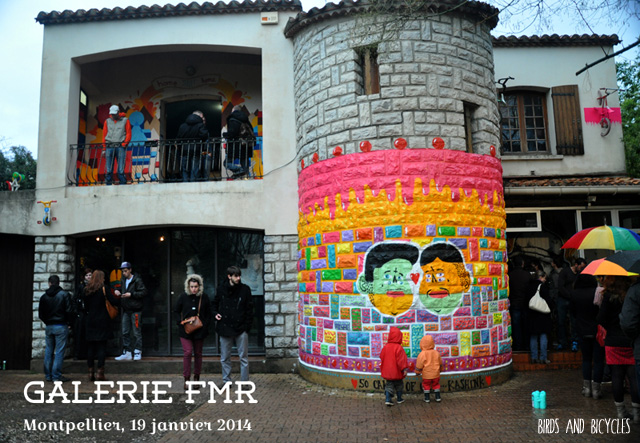 Projet FMR street art Montpellier