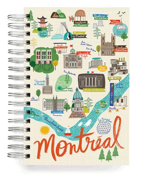 Joli carnet de Montreal
