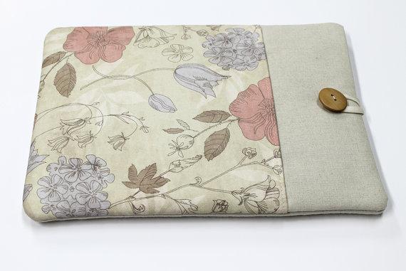 Housse pour portable sur la boutique Etsy de Studio Papilio