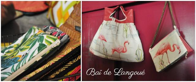Création de pochettes Bai de Langoue
