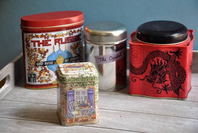 Ma collection de thés - Je suis une petite buveuse de thé - Sur le blog féminin Birds & Bicycles