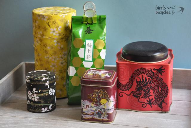 Mes thés préférés sur le blog : des thés en vrac ramenés du Japon...