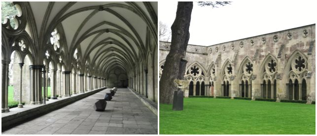 Cathedrale de Salisbury au Royaume-Uni