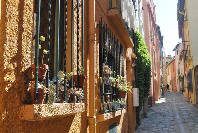 Ruelle au centre de Collioure