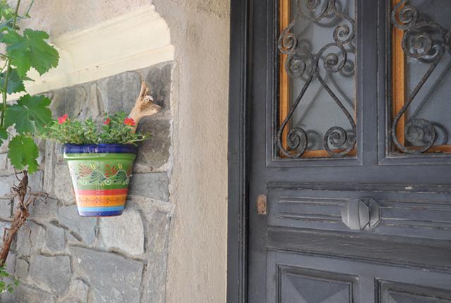 Porte cochère à Collioure