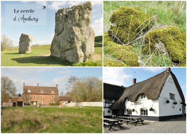 Autour du cercle de pierres d'Avebury