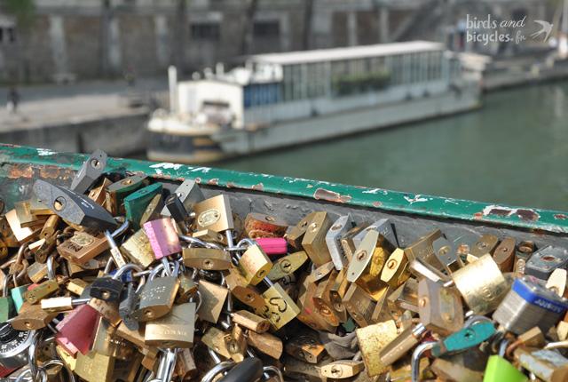Le Pont des Amoureux à Paris