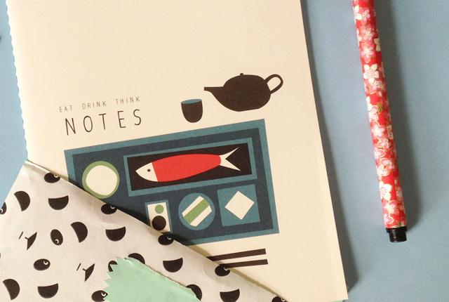 Papeterie: carnet de cuisine