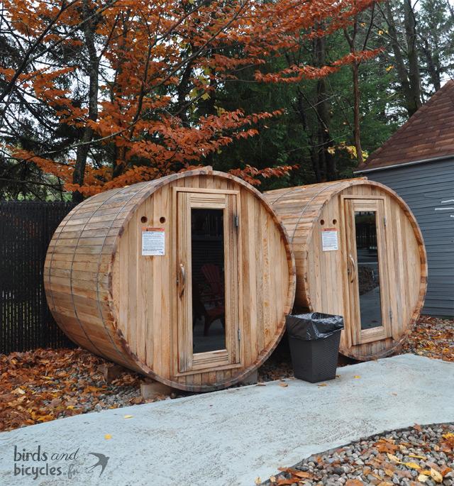 Les saunas du Château Sainte Adele