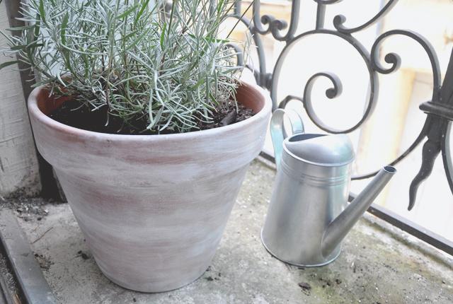Pot de fleurs customisé