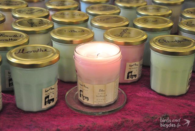 Les bougies de Charroux, une marque artisanale de bougies non-toxiques