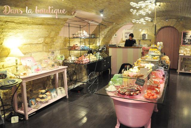 Bain de gourmandises, une jolie boutique de cosmétiques