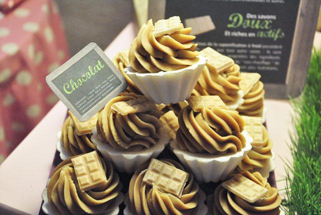 Bain: Des cupcakes au chocolat!