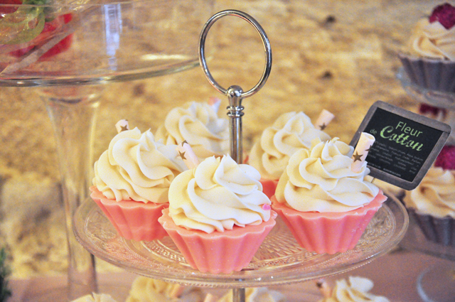 Des cupcakes gourmands pour le bain