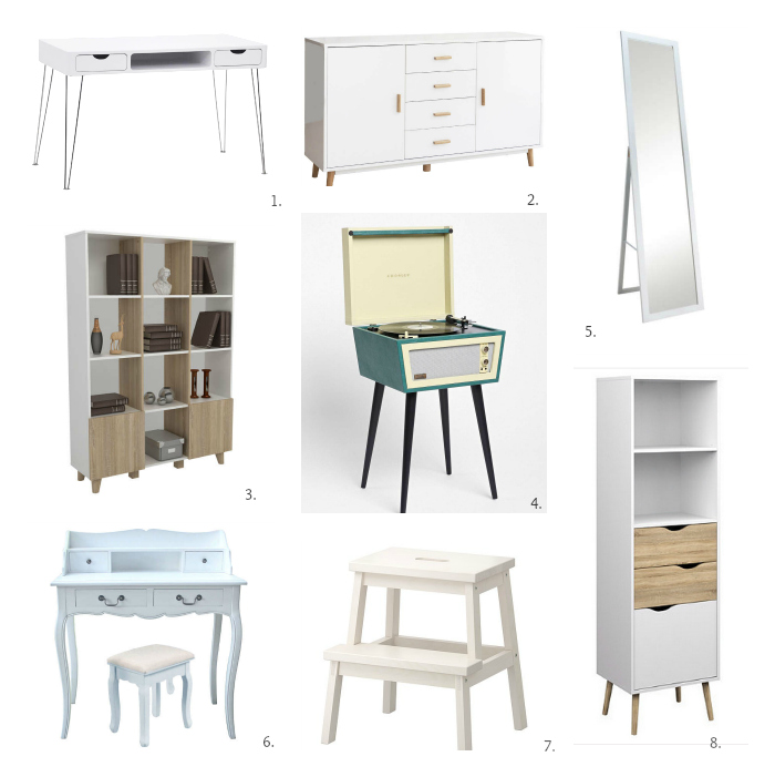 Sélection: jolis meubles