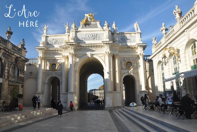 L'Arc Héré, Place Stanislas