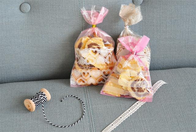 Mes paquets de biscuits de Noel