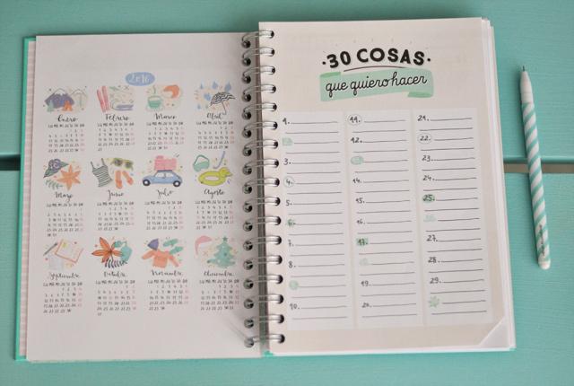 Un joli agenda pratique pour 2016
