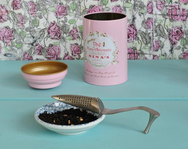 Nina's et le thé de Marie-Antoinette