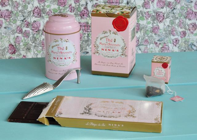 J'ai testé le thé de Marie-Antoinette de Nina's!