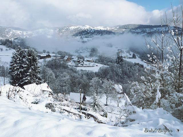 Photos des Vosges l'hiver