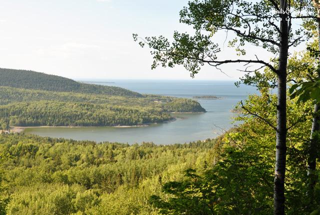 Le Bic, parc naturel au Québec