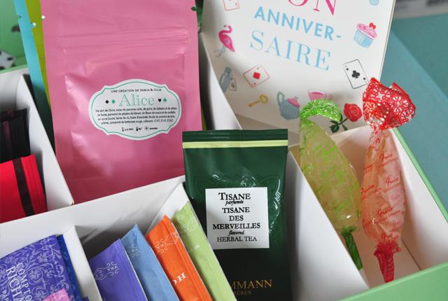 Thés: La thé box spécial Alice au pays des Merveilles!
