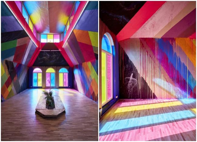 Expo City Lights avec Maya Hayuk