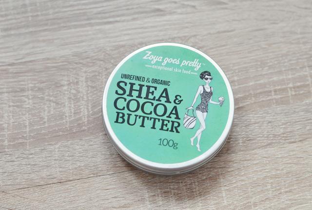 Zoya goes pretty: Avis sur le beurre cacao et karité