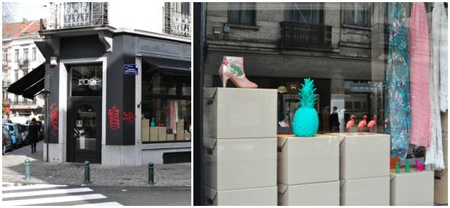 Bonnes adresses à Bruxelles: Rose, jolie boutique à Ixelles