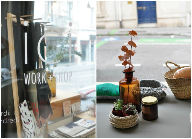 Ici Work + Shop : boutique déco à Nancy