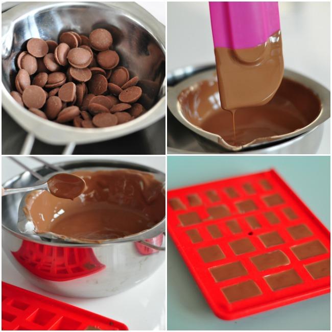 Chocobricks: un kit pour fabriquer des legos en chocolat