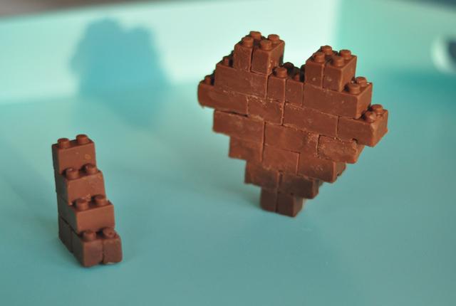 Chocolove - legos en chocolat