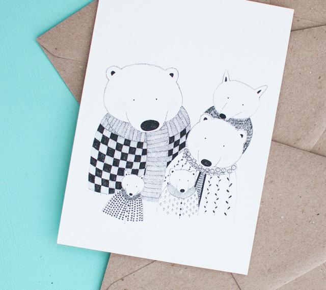 famille-ours-carte-de-noel-5-grammes