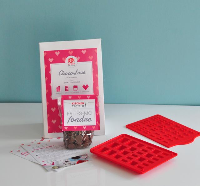 DIY des legos en chocolat avec les kits de KitchenTrotter