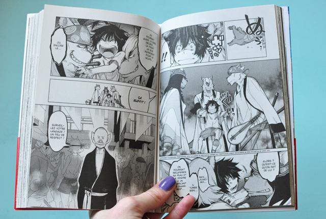 Manga: Le garçon et la bête