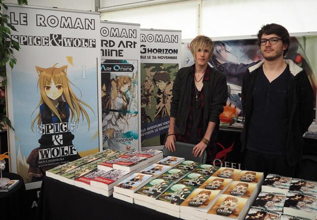 Ofelbe aux Imaginales: éditeur de light novels japonaises