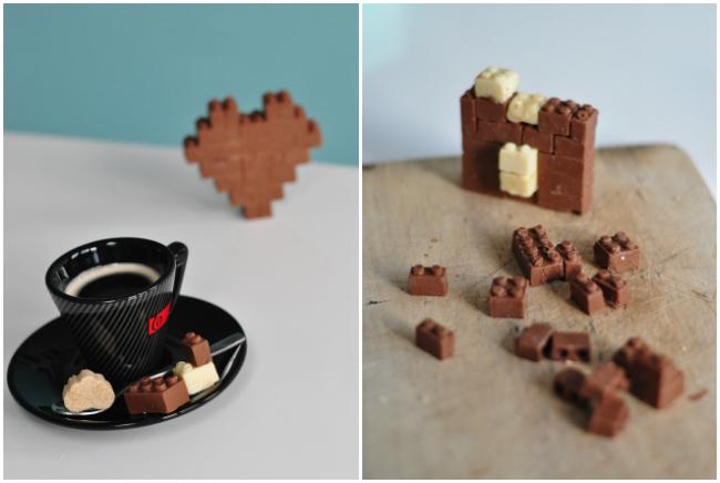 J'ai testé un kit pour fabriquer des legos en chocolat !