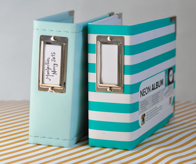 Project life: albums photo carrés