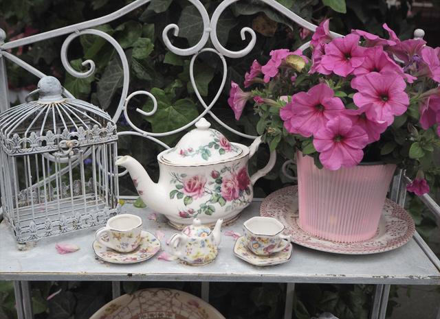 Où boire un thé à Strasbourg? Au fond du jardin!!