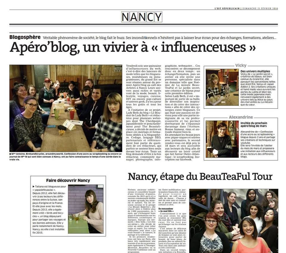 Les blogs de Nancy