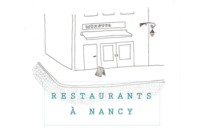 Mes adresses de restaurants à Nancy