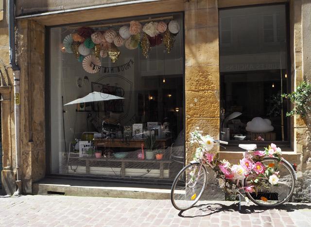 Concept Store à Metz: le vélo rose