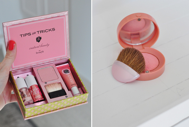 Coffret Benefit & blush bourjois