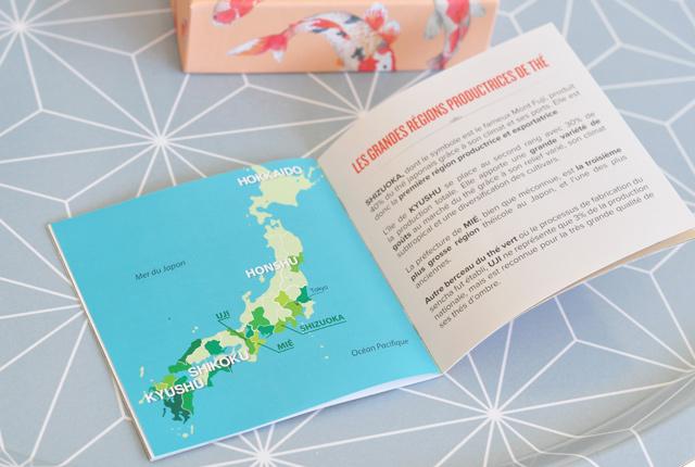 Le thé au Japon: livret de la box envouthé
