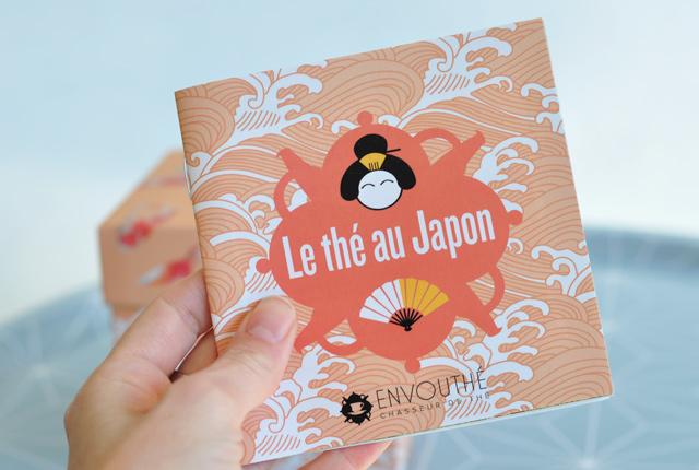 Odoroki: le livret sur les thés japonais