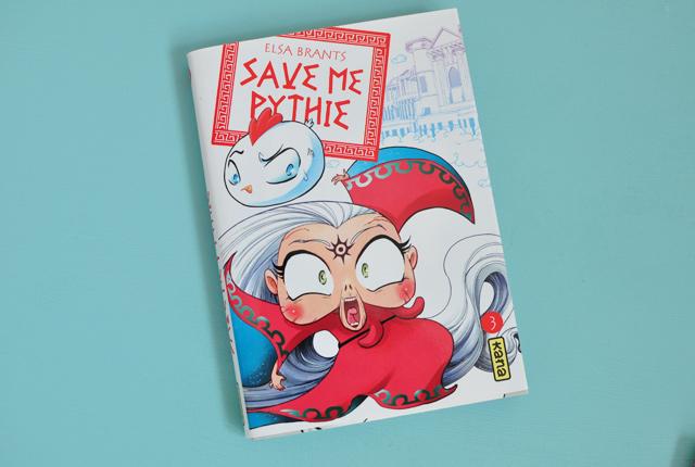 Mon avis sur Save me Pythie, un manga qui se déroule dans l'univers de la mythologie grecque