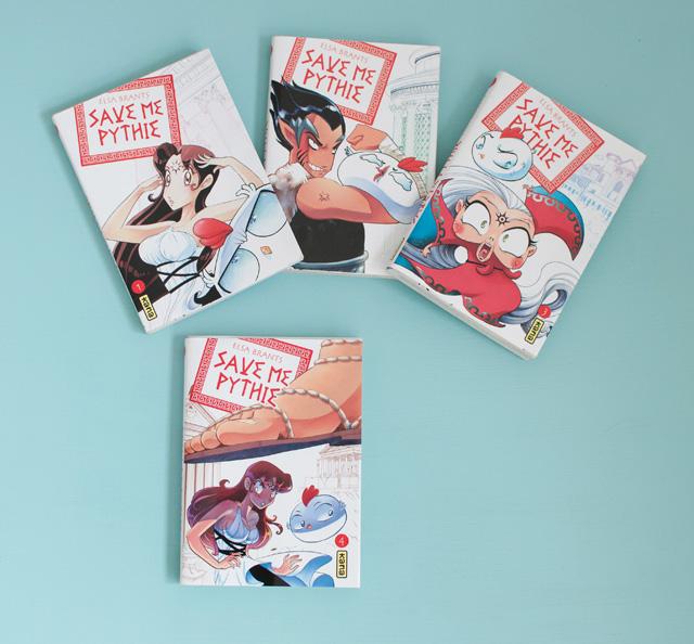 Mon avis sur le manga Save me Pythie!