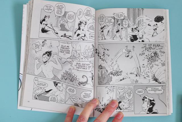 Le manga Save me Pythie par la dessinatrice française Elsa Brants
